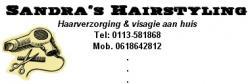 Sandra's hairstyling